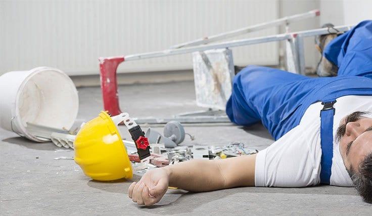 İnşaattan Düşme İş Kazası Tazminat