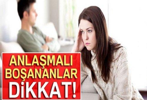 Anlaşmalı boşanmalar için önemli karar! Boşanma Kararı Kesinleşmedikçe hüküm ifade etmez