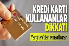 Yargıtay'dan Emsal Karar Karttan İzinsiz Çekilen Paradan Banka da Sorumlu